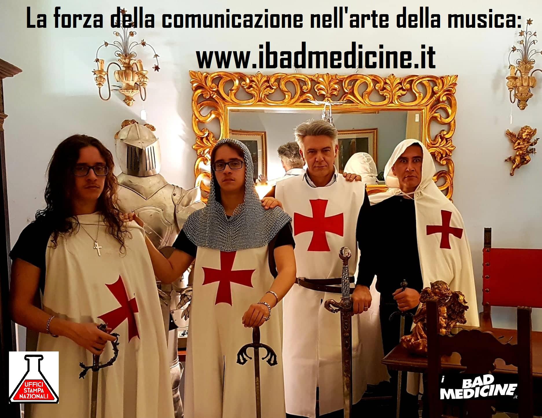 """Musica rock e comunicazione: i Bad Medicine verso Sanremo approdano sul web con il nuovo portale """"www.ibadmedicine.it"""""""